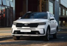 Kia Sorento outside